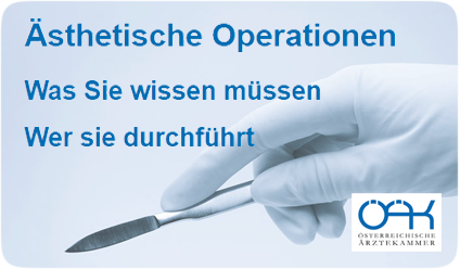 Ästhetische Operationen Button